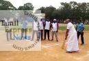 மீடியா டிராஃபி கிரிக்கெட் போட்டியை அமைச்சர் ஜெயக்குமார் தொடங்கி வைத்தார்