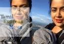2 மாத குழந்தையோடு உயரிய மலையில் ஏற முயற்சித்த சமீரா ரெட்டி