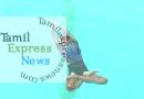 தண்ணீரில் 37 ஆசனங்கள்..! அசத்திய மாணவி