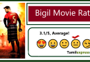 Bigil Movie Rating