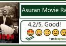 Asuran Movie Rating