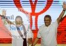 இலங்கையின் 23-வது பிரதமராக மஹிந்த ராஜபக்ச இன்று பதவி ஏற்கிறார்