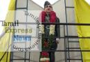 கரூரில் நேதாஜி சிலையை அமைச்சர் எம்.ஆர்.விஜயபாஸ்கர் திறந்து வைத்தார்